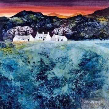 'Red Sky at Night' by Michael Morgan