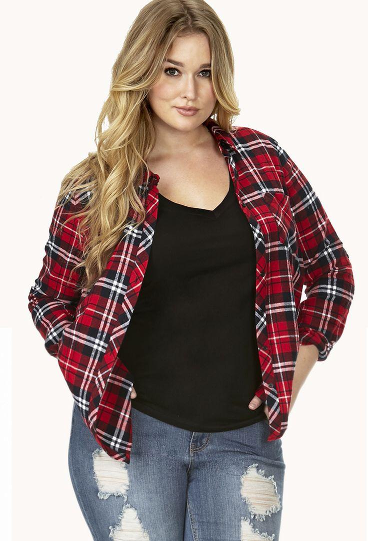 Best 25+ Plaid shirt women ideas on Pinterest | Womens ...
