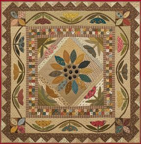 Field Of Flowers Quilt Pattern, Timeless Traditions Quilts by Norma Whaley