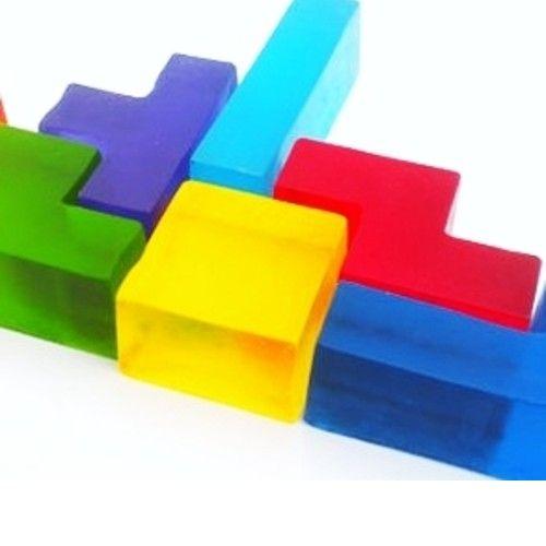 soap tetris bricks / tetris mejdlíčka