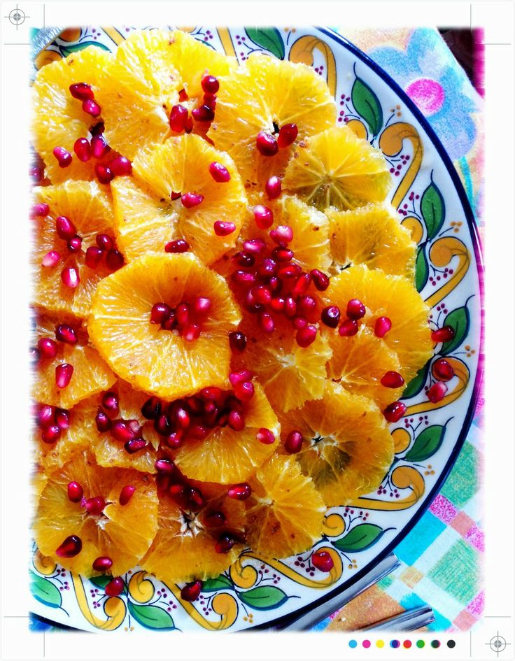 Toast: Moroccan Orange Salad