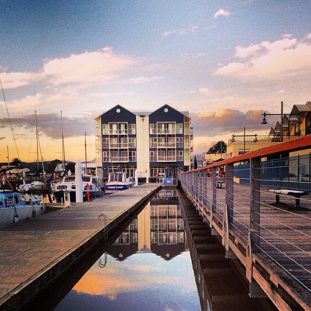 Autumn reflections in Launceston's Seaport precinct. #launceston #tasmania #discovertasmania Image Credit: mandie_111