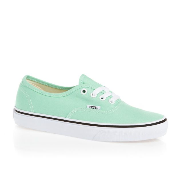 Women's Vans Authentic Shoes - Beach Glass/True White