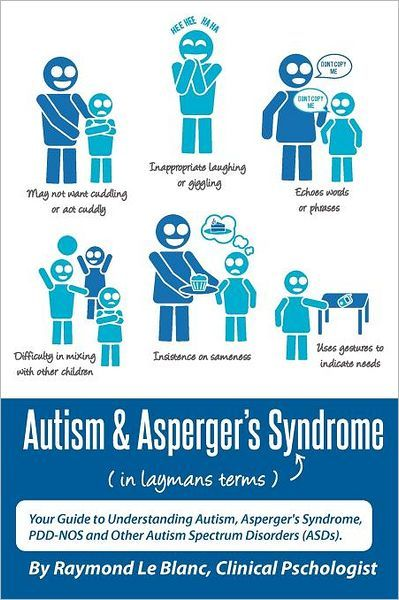 Autism & Asperger's Syndrome in Layman's Terms. Your Guide to Understanding Autism, Asperger's Syndrome, PDD-NOS and Other Autism Spectrum Disorders (ASDs). Repinned by  SOS Inc. Resources.  Follow all our boards at http://pinterest.com/sostherapy  for therapy resources.
