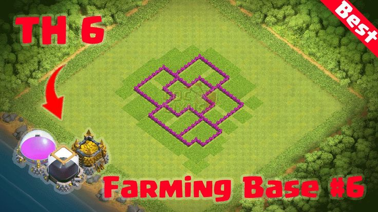 Clash of Clans: TH6 Defense (CoC Town Hall 6 Farming Base Layout Defense...