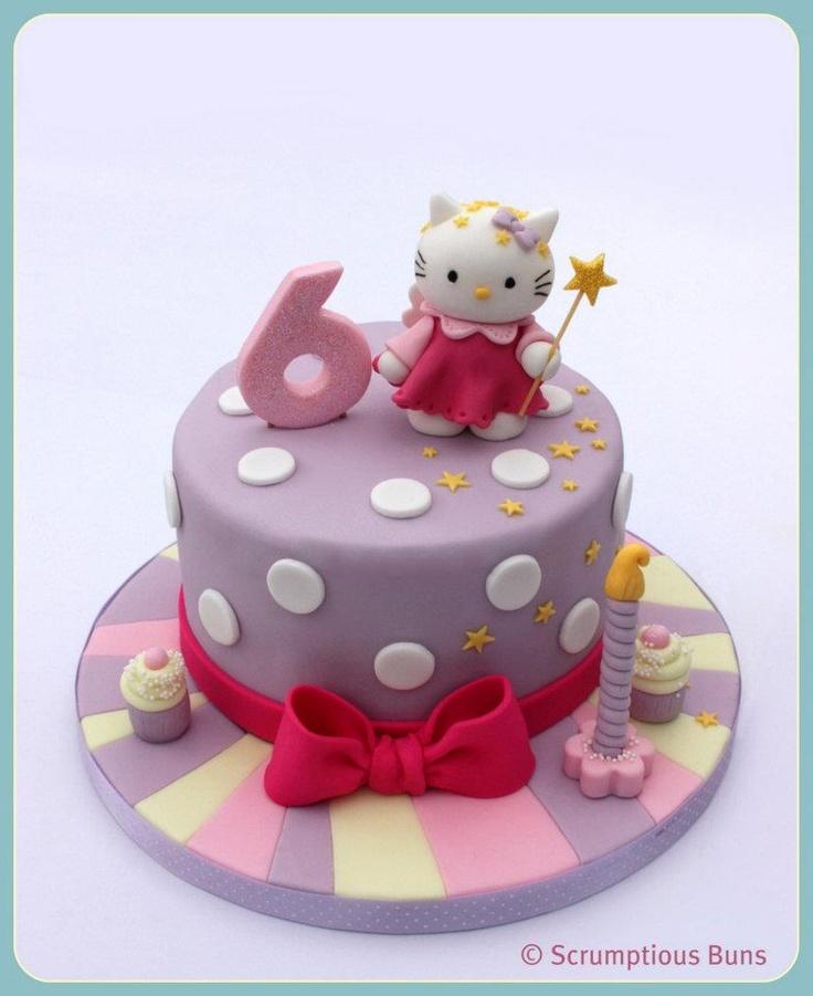 .hello kitty birthday cake