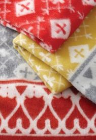 Fjallnas Wool Blanket - Norwegian