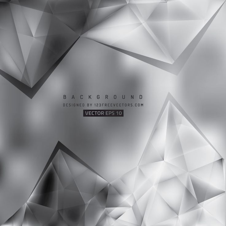 Abstract Gray Geometric Triangle Background Design  - https://www.123freevectors.com/abstract-gray-geometric-triangle-background-design-67974/