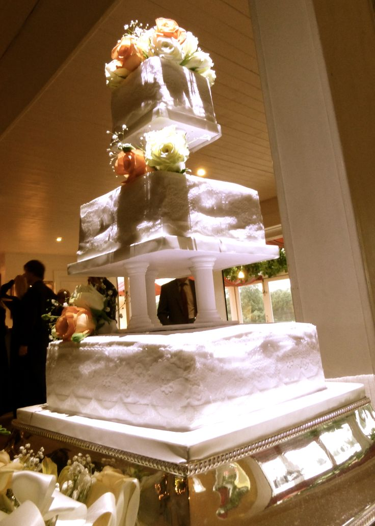 wedding cake top tier tradition a 3 tier traditional cake royal icing and pillars based 26676