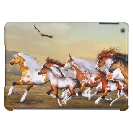 Wild Horses Herd Case For iPad Air