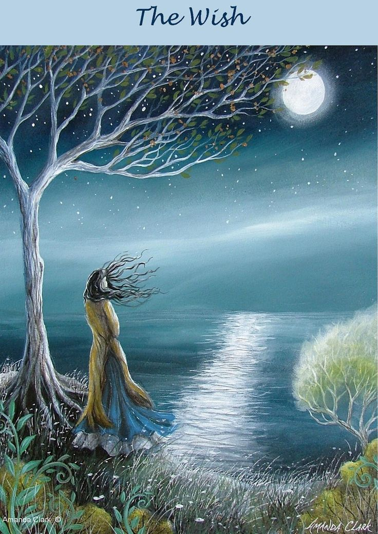 Earth Angels Art. Art and Illustrations by Amanda Clark: Magical Trebarith Strand
