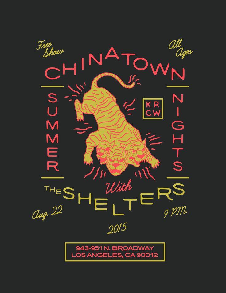 poster design chinatown