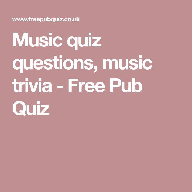 Přes 25 nejlepších nápadů na téma Free Pub Quiz na Pinterestu - free quiz template