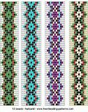 Rezultat imagine pentru Easy Beading Patterns for Looms