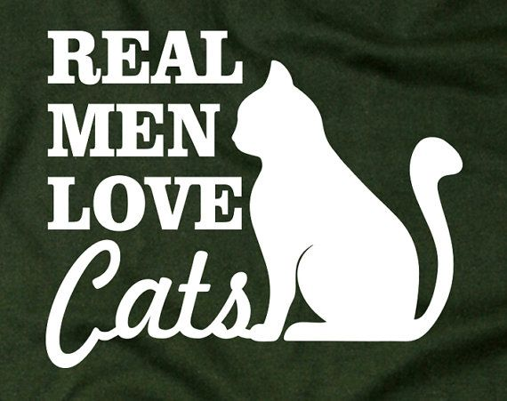 Real Men Love Cats Tshirt – Papa Tshirt, Birthday, Valentines, unisex, Fathers day,  Mother's Day, Wedding, Husband, Boyfriend, xmas gift 1 on Ets…