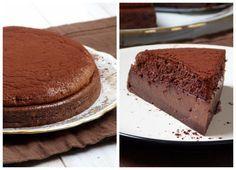 Ça a l'air d'une pure merveille... Chic, chic, chocolat...: Gâteau magique au chocolat