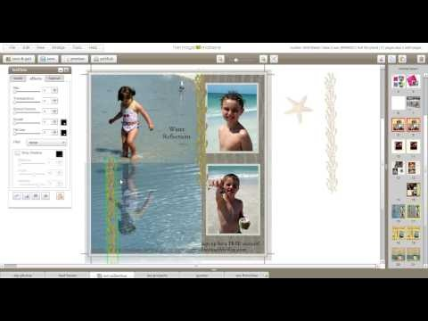 Heritage Makers - Water Reflections Tutorial