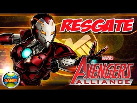 Resgate Marvel Avengers Alliance Todos Ataques