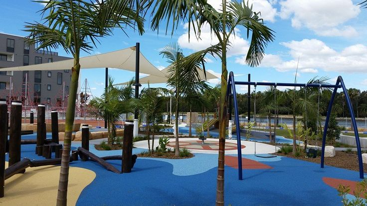 The brand spanking new shaded playground at Halvorsen Park, Ermington has a wonderful nautical theme and is best suited for kids 2-8yrs.