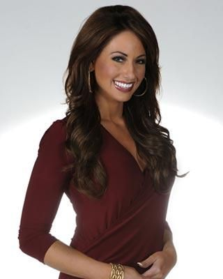Photograph of Holly Sonders, Beautiful and a great addition to golf.