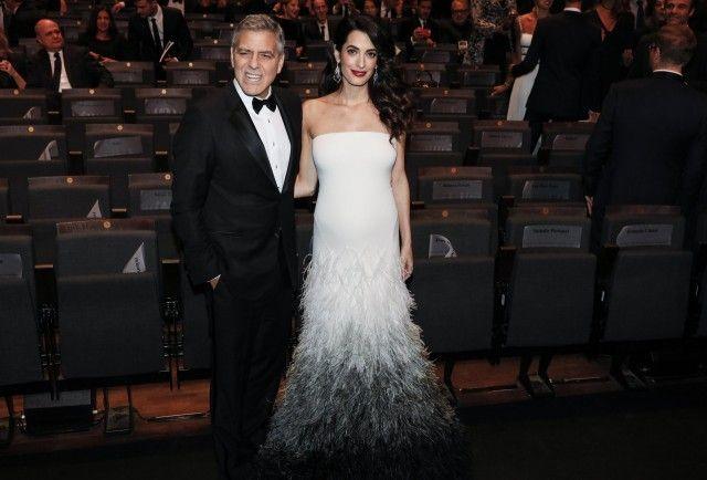 George e Amal Clooney: le prime foto con il pancione