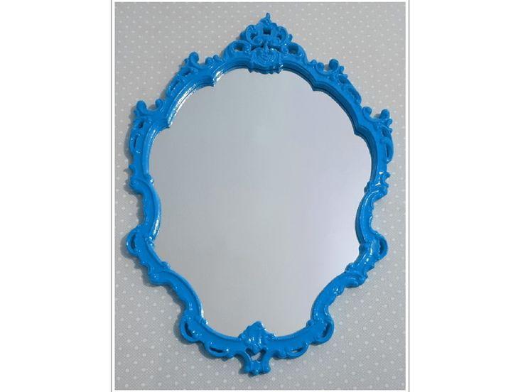 Espelho Veneziano Com Moldura Em Resina | PopDecorei | Elo7