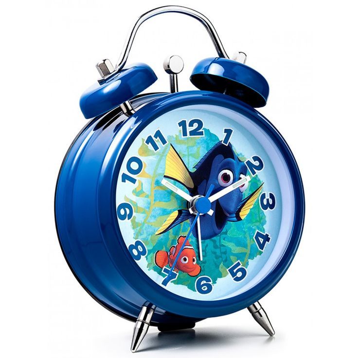 This Finding Dory Mini Twin Bell Alarm Clock is ideal for any fans of the Disney Pixar films! The colourful clock features a great image of Dory and Nemo on the face.