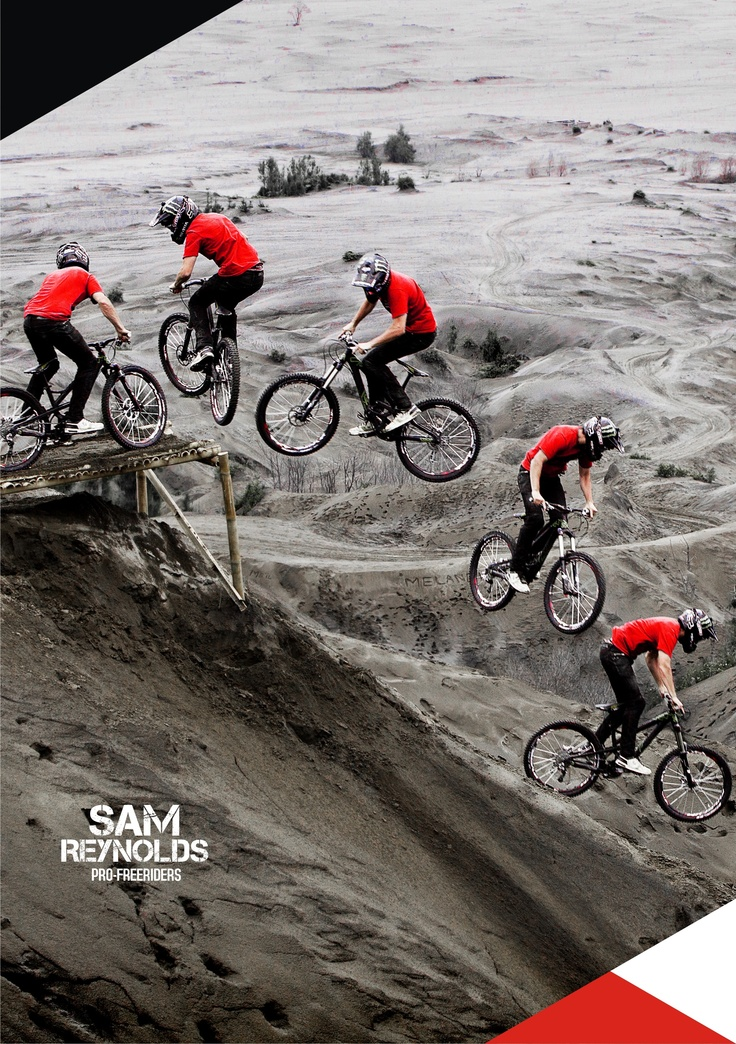 SAM REYNOLDS at MT Bromo, INDONESIA