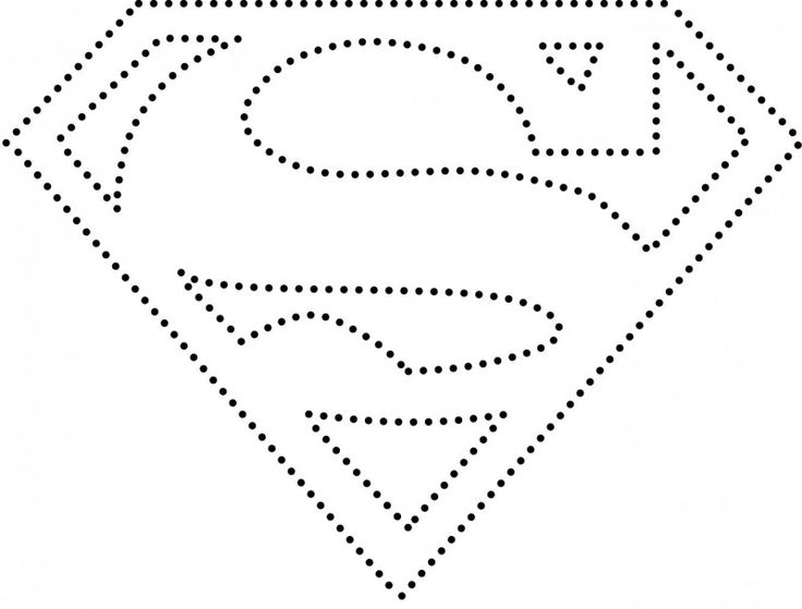 superman logo template for cake - superman logo cards superheroes pinterest logos