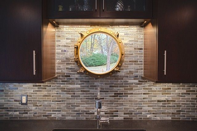 Best 10 brown kitchen tiles ideas on pinterest for Best brand of paint for kitchen cabinets with copper patina wall art