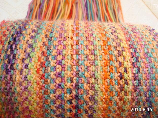 Koigu Linen Stitch Scarf.