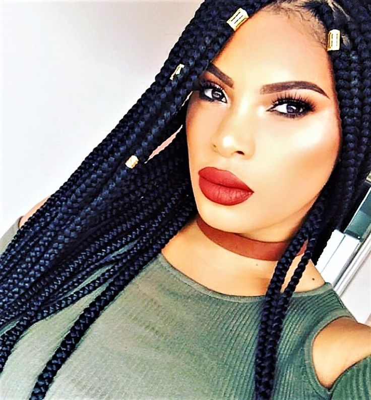 107 best images about Les coiffures Be Nappy on Pinterest - Box Braids Hairstyle
