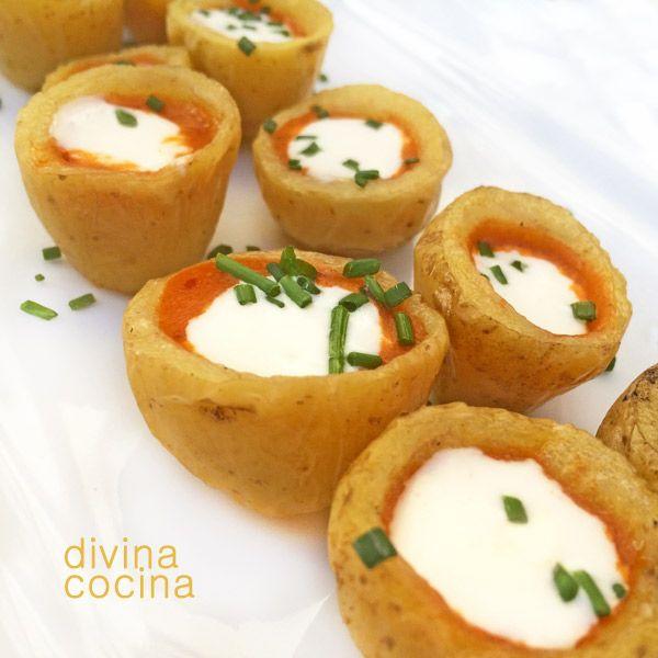 83 best recetas de aperitivos volovanes cestas y for Divina cocina canapes
