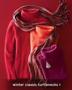 Winter Classic Turtlenecks #ColdwaterCreek- Must have for winter