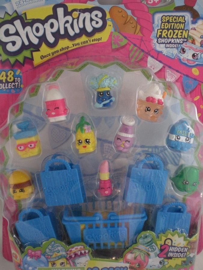 shoe boutiques in los angeles ca Shopkins 12 pack Season 1 Special Edition Frozen   2 Hidden HTF Hot Toy   Moose