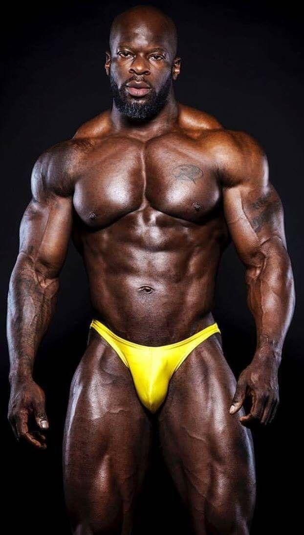 Buff black guy