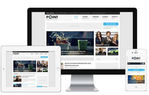 Point A Free WordPress Responsive Magazine Theme by MyThemeShop