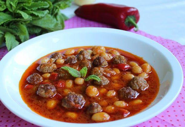KÖFTELİ TAZE BARBUNYA YEMEĞİ TARİFİ | Yemek Tarifleri