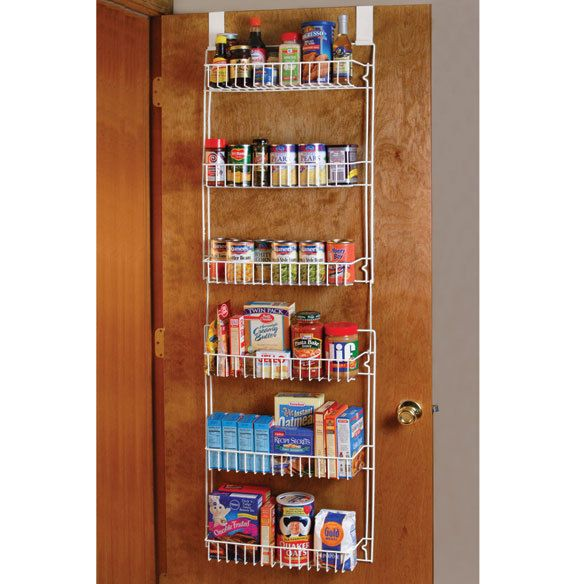 Racks and Holders 46283: Over Door Rack Organizer Storage 5 Foot Kitchen Pantry Spice Shelves ~ -> BUY IT NOW ONLY: $31.08 on eBay!