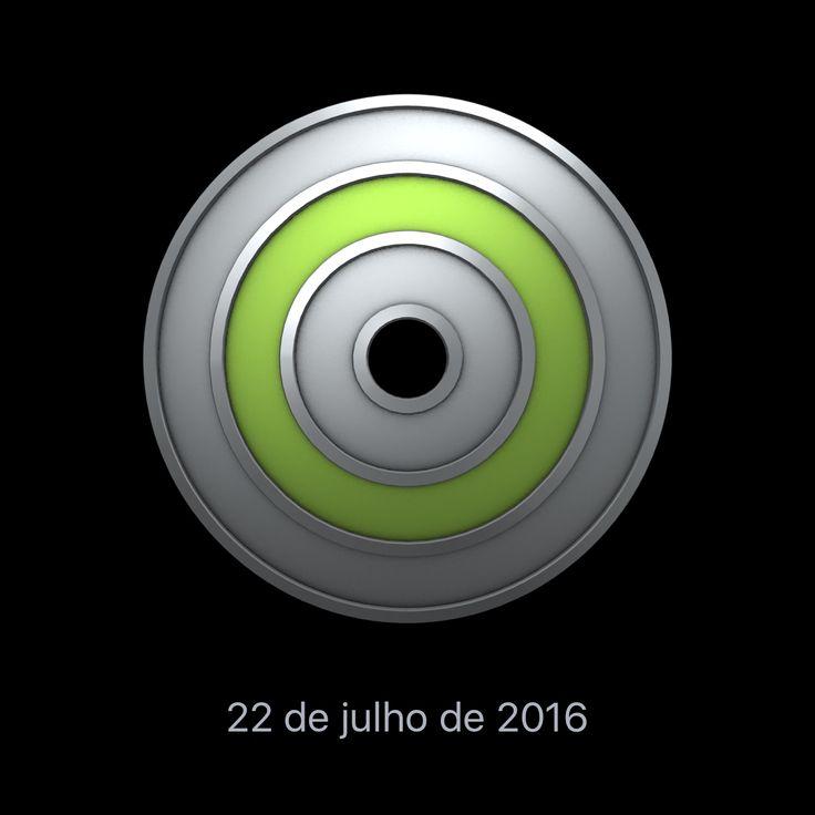 Bati um novo recorde pessoal pelo maior número de minutos de exercício em um dia no meu #AppleWatch.