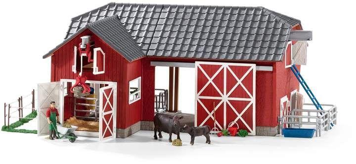 42421 Schleich poulet Coop Farm World for Plastic Figure