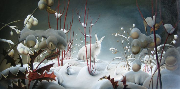 images about Rabbits in art on Pinterest The moon