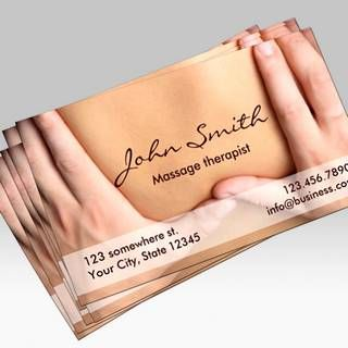 Create your own Massage Business Cards Online. All templates are Industry Specific and FREE to use.  nice ideas