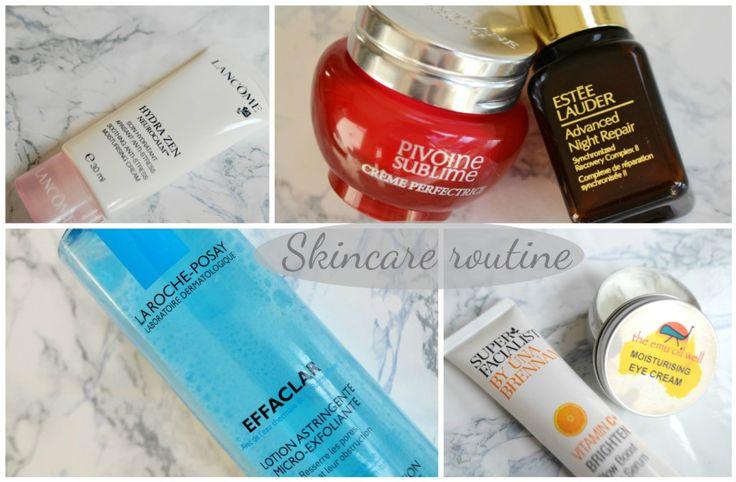 My skincare: la roche posay, loccitane, lancome, estee lauder