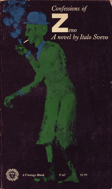 Milton Glaser, cover forConfessions of Zenoby Italo Svevo (Vintage, date unknown)