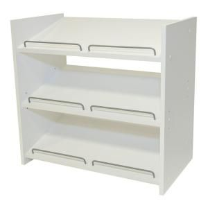 Martha Stewart Living Stackable 24 in. H x 25 in. W Classic White Shoe Storage WS1 at The Home Depot - Mobile
