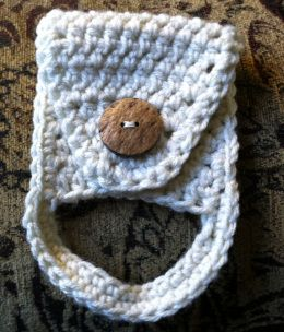 Crochet Dishtowel Holder