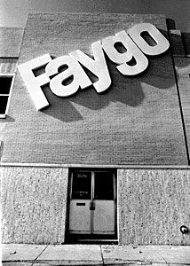 """Faygo: Ben and Perry Feigenson founded Feigenson Brothers Bottling Works in 1907. The name was later changed to Faygo because it was easier to print on a bottle. The original flavors (Fruit Punch, Strawberry and Grape) were based on cake frosting recipes used by the Feigensons at their bakery in Russia. Faygo flavors are regularly featured on """"Best Of"""" lists and Faygo is certainly one of the most loved brands in Detroit."""
