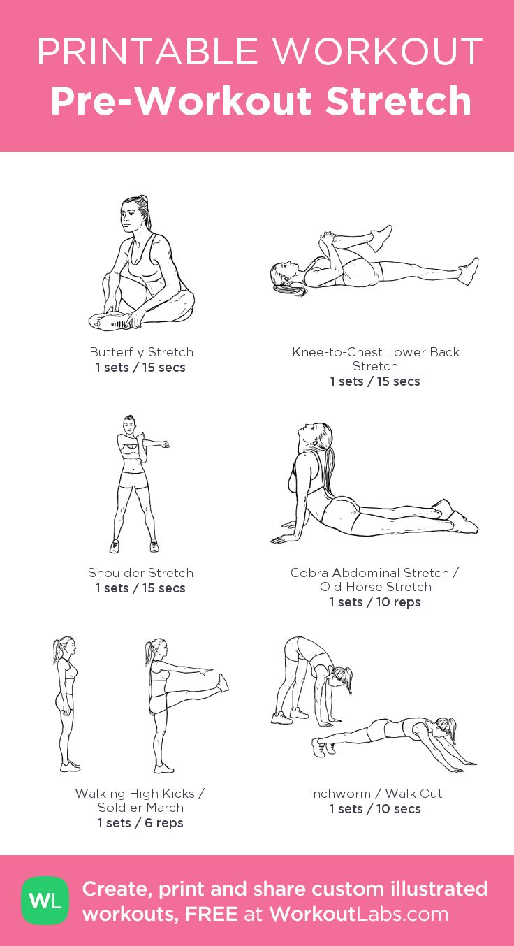 Pre-Workout Stretch http://www.weightlossjumpstart.net/best-workout-for-your-blood-type/