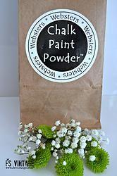 Websters Chalk Paint Powder ~ Large